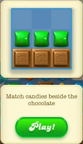 Candy Crush Soda Saga, 巧克力 (Chocolate)