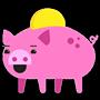 Facebook, 貼圖商店, 小豬存錢筒