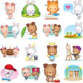 Facebook, 貼圖商店, 更多可愛的寵物