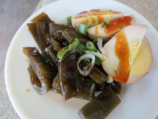 興南街水餃牛肉麵, 海帶.豆干
