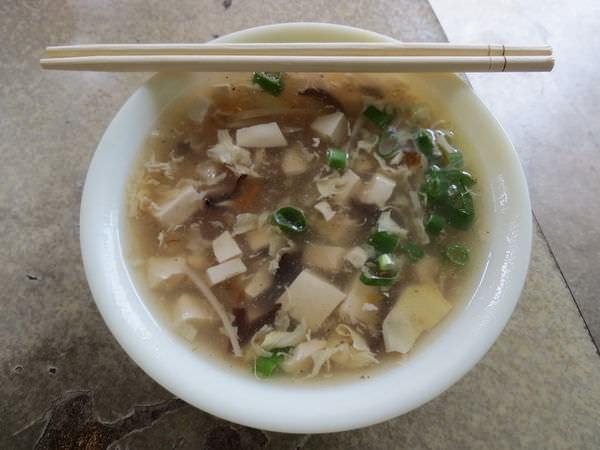 興南街水餃牛肉麵, 酸辣湯
