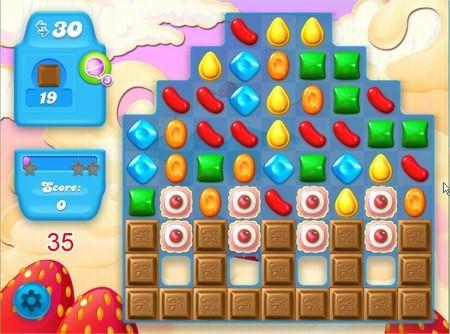 Candy Crush Soda Saga, 過關技巧, Level 35