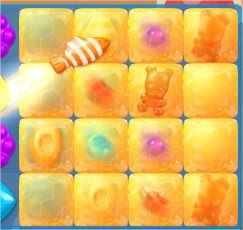 Candy Crush Soda Saga, 魚+條紋糖果