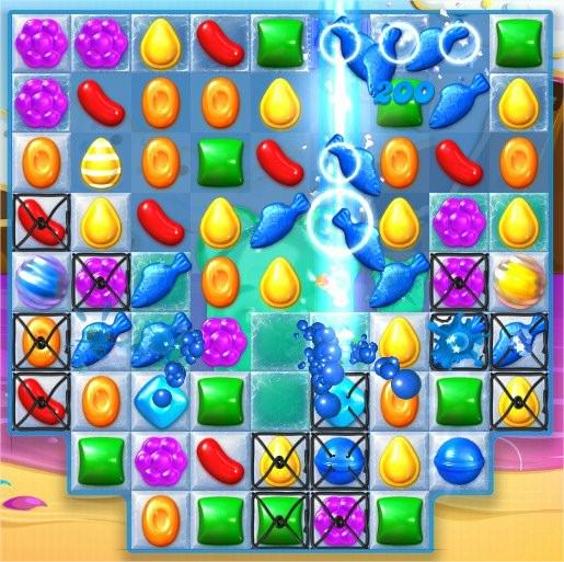 Candy Crush Soda Saga, 威士忌糖+果凍魚