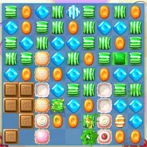 Candy Crush Soda Saga, 威士忌糖+條紋糖果
