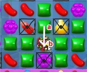 Candy Crush Soda Saga, 合成技巧, 特殊狀況