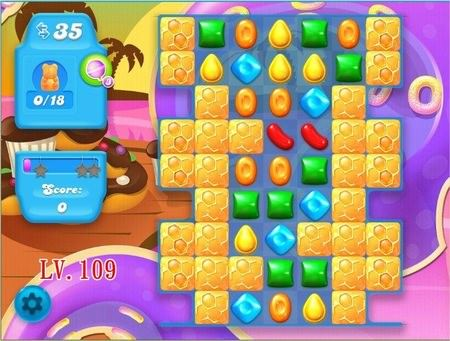 Candy Crush Soda Saga, 過關技巧, Level 109