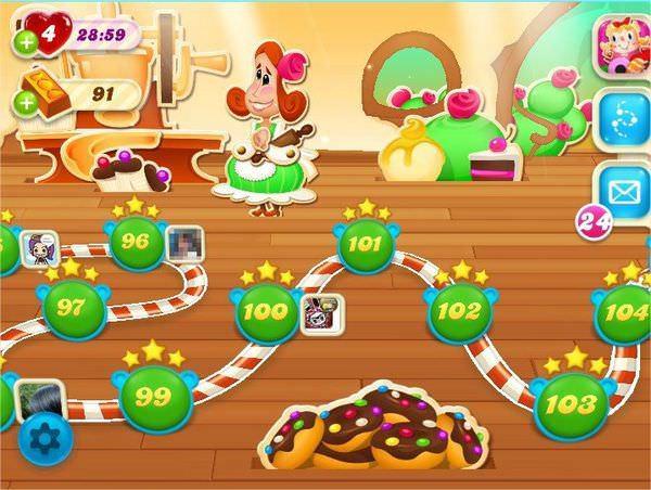 Candy Crush Soda Saga, 關卡地圖