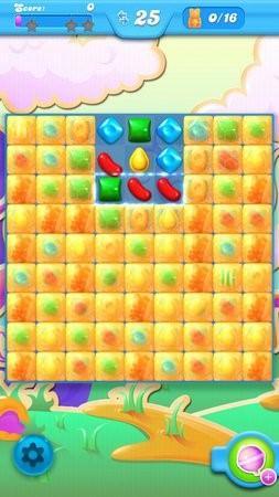 Candy Crush Soda Saga, 遊戲畫面