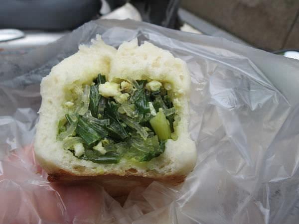 老蔡水煎包(民權店), 韭菜包