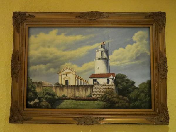 新帆船澳門葡國餐廳, 用餐環境, 壁畫