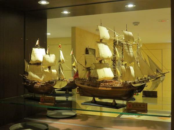 新帆船澳門葡國餐廳, 用餐環境, 帆船