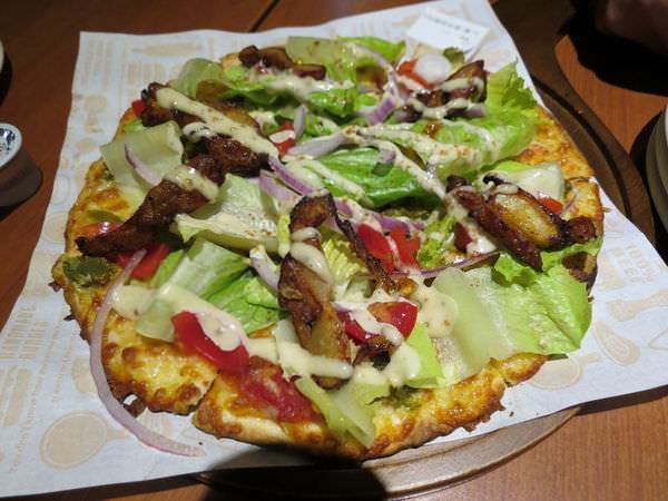 瓦薩比薩(Vasa Pizzeria)(北市松山車站店), 墨西哥雞肉披薩(9吋)(薄餅皮)