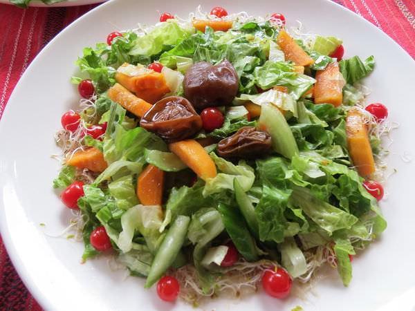 比亞外部落, 桃園縣, 復興鄉, 風味餐, 蔬果沙拉(當季部落生產水果)