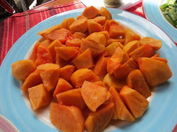 比亞外部落, 桃園縣, 復興鄉, 風味餐, 甜柿