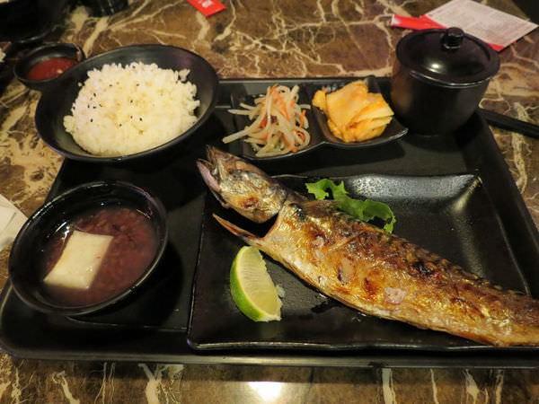 百八魚場(南京店), 鹽烤鯖魚定食