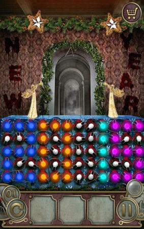 App, 逃出豪宅(Escape The Mansion), Christmas, Level 1, 解法