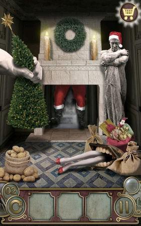 App, 逃出豪宅(Escape The Mansion), Christmas, Level 2, 解法