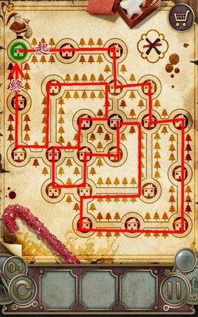 App, 逃出豪宅(Escape The Mansion), Christmas, Level 4, 解法