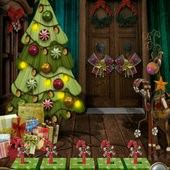 App, 逃出豪宅(Escape The Mansion), Christmas, Level 5, 解法
