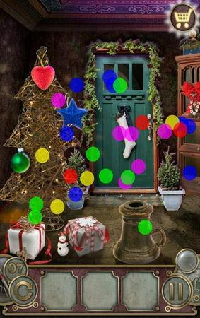 App, 逃出豪宅(Escape The Mansion), Christmas, Level 7, 解法