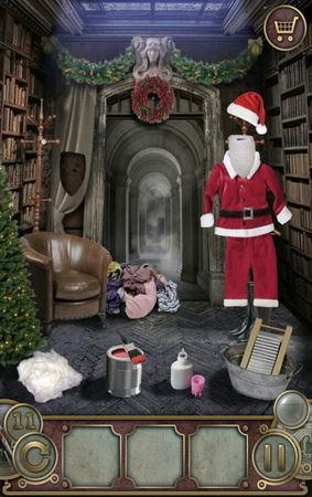 App, 逃出豪宅(Escape The Mansion), Christmas, Level 11, 解法