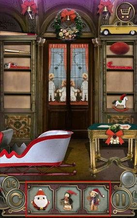 App, 逃出豪宅(Escape The Mansion), Christmas, Level 16, 解法