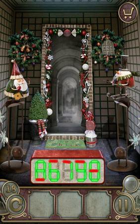 App, 逃出豪宅(Escape The Mansion), Christmas, Level 18, 解法
