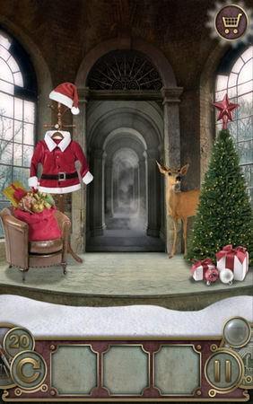 App, 逃出豪宅(Escape The Mansion), Christmas, Level 20, 解法