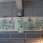 猴硐貓村, 貓村地圖