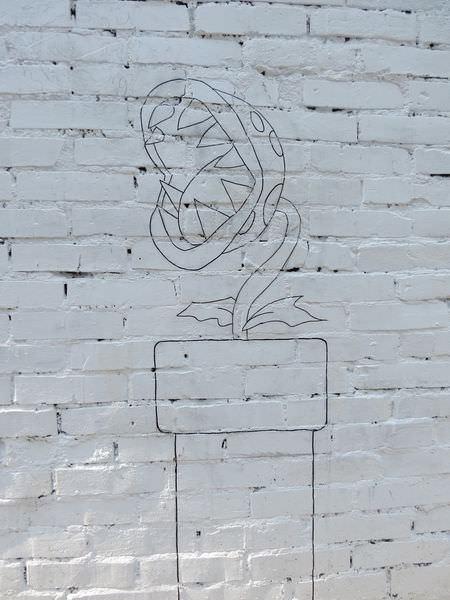 台中動漫彩繪巷(海賊王彩繪), 瑪莉兄弟