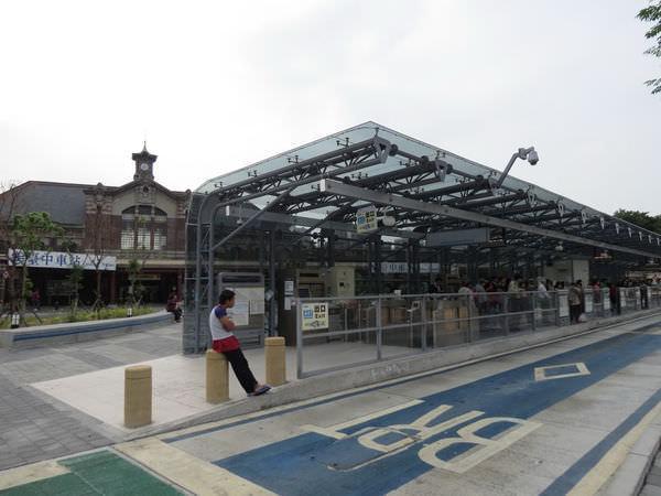 台中火車站, BRT