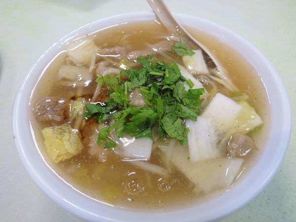 圓環阿宗魚翅肉羹, 肉羹麵(小)