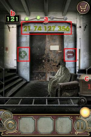 App, 逃出豪宅(Escape The Mansion), Level 204, 解法