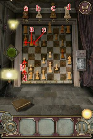 App, 逃出豪宅(Escape The Mansion), Level 214, 解法