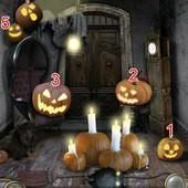 App, 逃出豪宅(Escape The Mansion), Halloween, Level 7, 解法