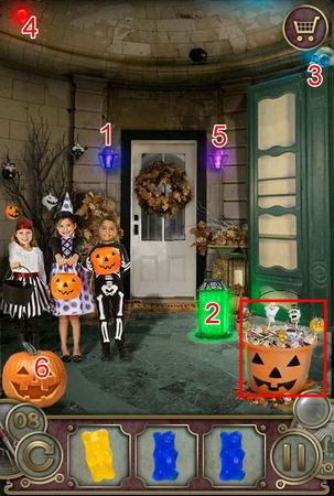 App, 逃出豪宅(Escape The Mansion), Halloween, Level 8