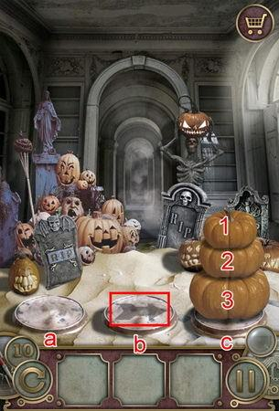 App, 逃出豪宅(Escape The Mansion), Halloween, Level 10, 解法