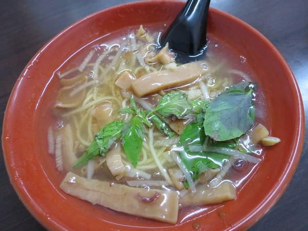 六和魷魚羹, 韓國魷魚羹麵