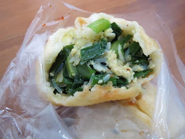 劉家水煎包, 韭菜水煎包