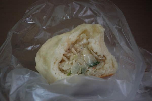 劉家水煎包, 高麗菜水煎包