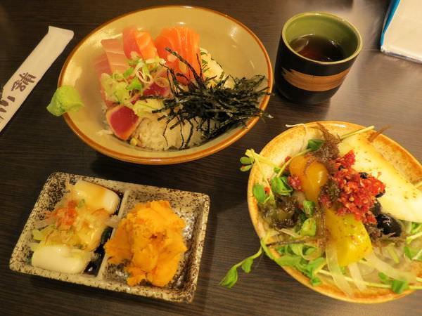 漁僮小舖(永春店), 漁僮丼定食(綜合刺身)