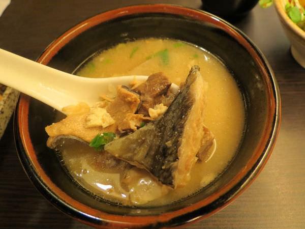漁僮小舖(永春店), 味增湯