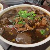王水成深坑廟口豆腐老店, 肥腸鴨血
