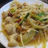 老地方豆腐美食, 薑絲大腸