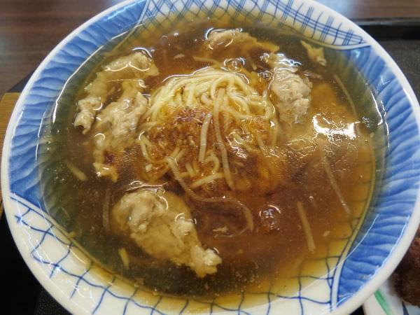 羅東肉羹番(礁溪分店), 肉羹麵