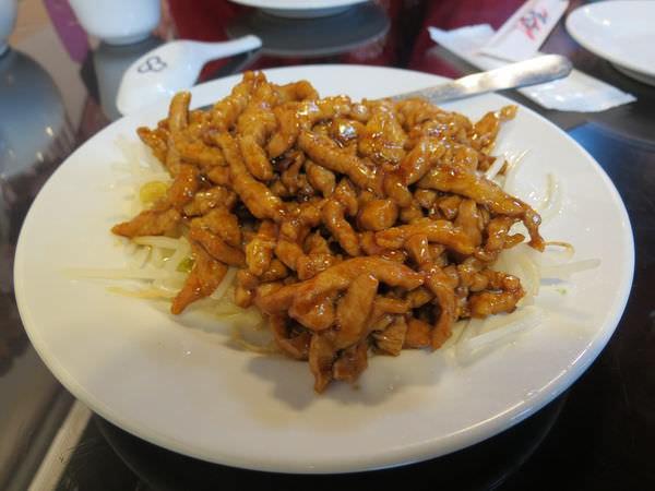 北大莊川味館, 京醬肉絲
