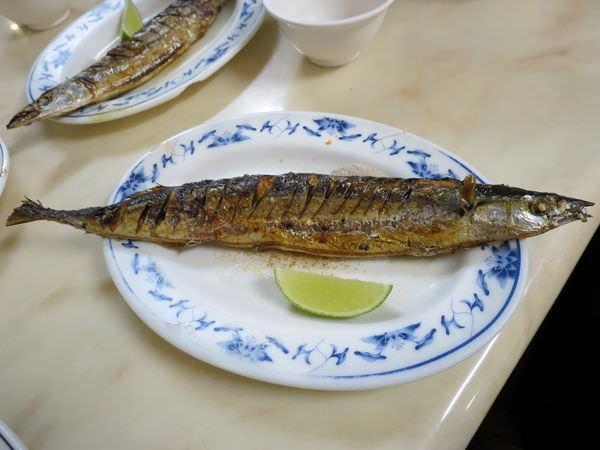 太郎日式料理屋, 烤秋刀魚