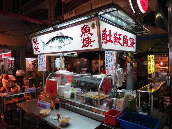 高雄六合觀光夜市, 光頭老闆土魠魚羹