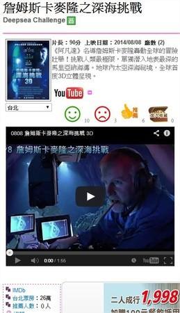 Movie, Deepsea Challenge 3D(詹姆斯卡麥隆之深海挑戰 3D), 開眼